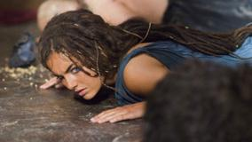 10,000 BC &#8211; Camilla Belle Laying On Floor